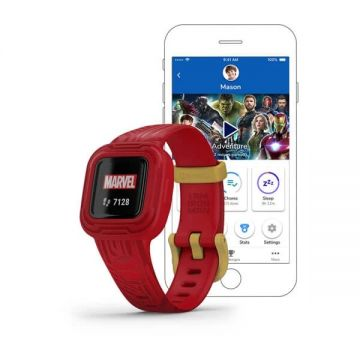 Garmin Kinderhorloge Vivofit JR3 Marvel Iron Man