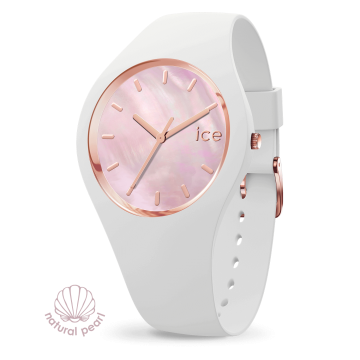Ice Watch - Ice Pearl - White Pink - Small - 016939