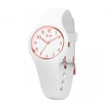 Ice Watch Kinderhorloge - Ice Glam - White Rose Gold - Numbers - Extra Small - 015343