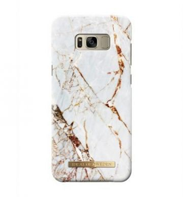 iDeal of Sweden Smartphone Tasjes & Hoesjes CARRARA GOLD GALAXY S8 PLUS