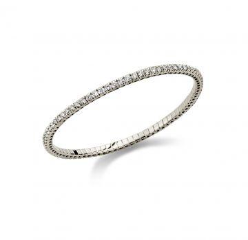 Juwelier Vanquaethem Armband Briljant - Goud 18kt.