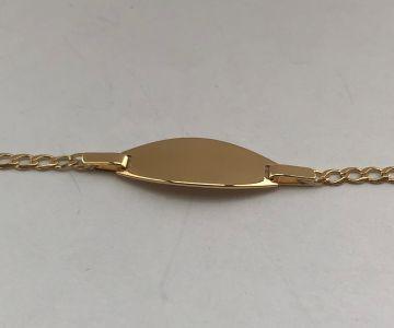 Juwelier Vanquaethem Babyarmband Goud 18kt