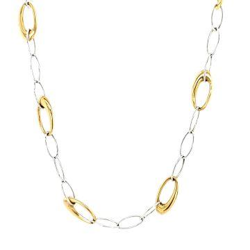 Juwelier Vanquaethem Halsketting Goud 18 Karaat