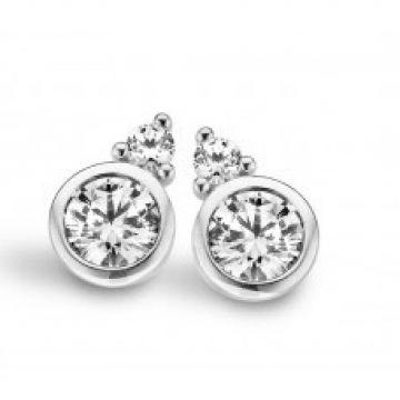 Juwelier Vanquaethem Oorringen 18 Karaat - Zirconium