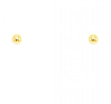 Juwelier Vanquaethem Oorringen - Goud 18 Karaat