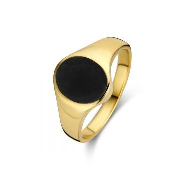 Juwelier Vanquaethem Zegelring Goud 18 Karaat