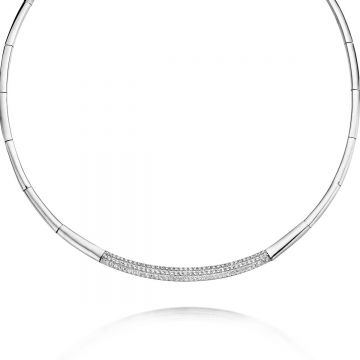 Naiomy Halsketting Dames Zilver N3A11