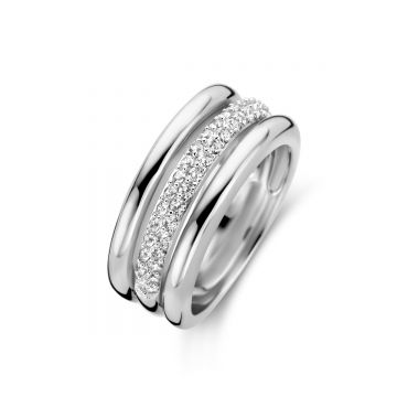 Naiomy Ring Dames Zilver N0A67