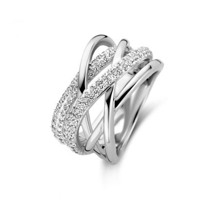 Naiomy Ring Dames Zilver N0A68