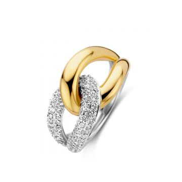 Naiomy Ring Dames Zilver N0A71