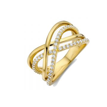 Naiomy Ring Dames Zilver N0D54
