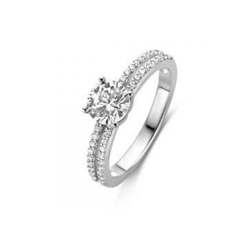 Naiomy Ring Dames Zilver N0M51