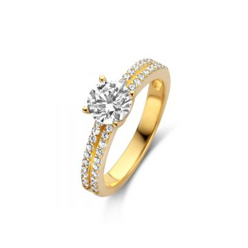 Naiomy Ring Dames Zilver N0M59