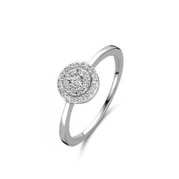 Naiomy Ring Dames Zilver N0R51