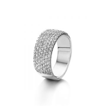 Naiomy Ring Dames Zilver N3A06