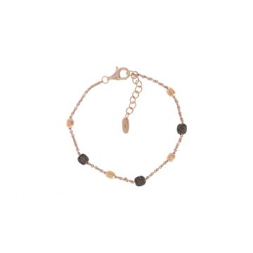 Pesavento Armband Dames Polvere di Sogni Rosa - Brown Dust WPLVB909